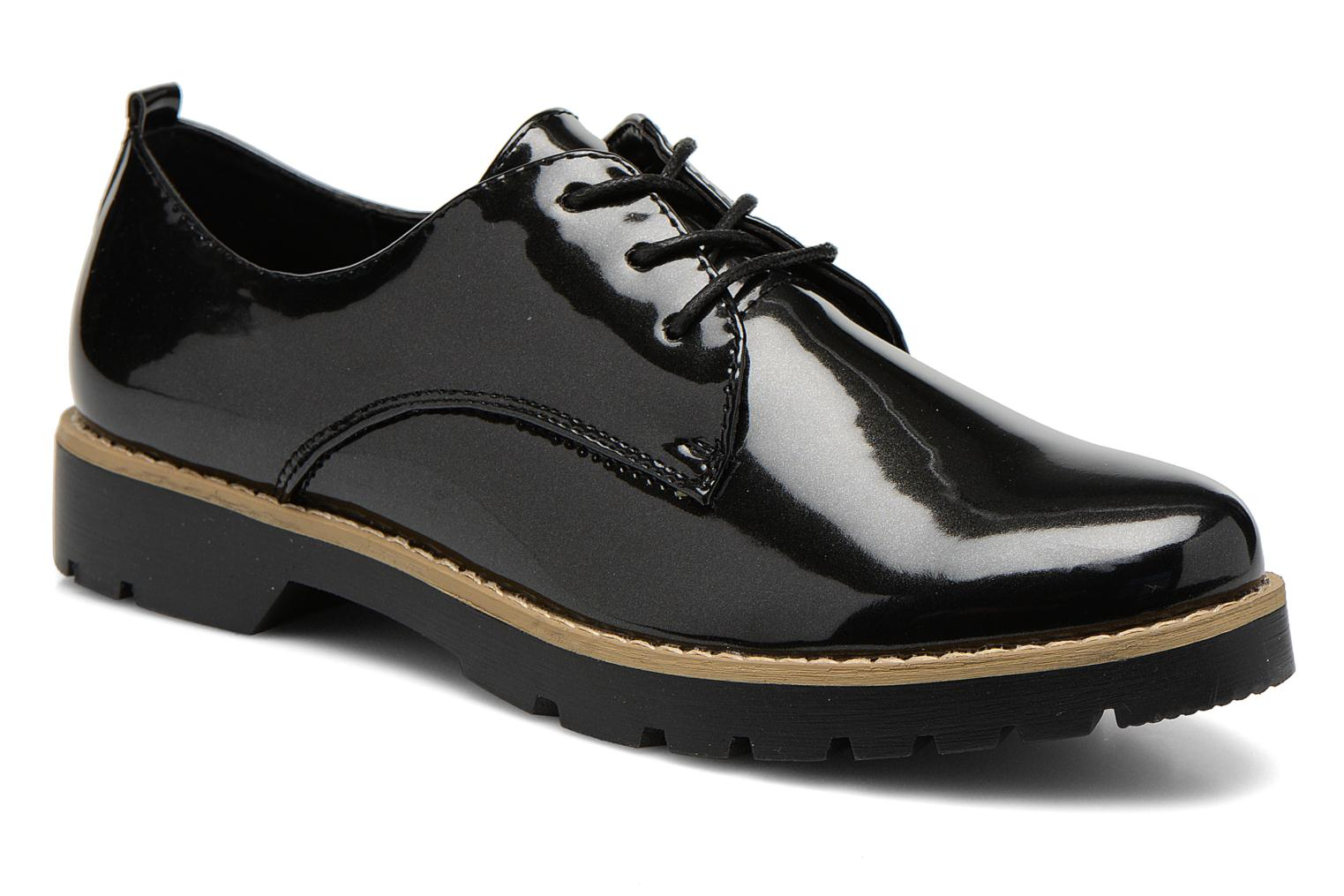 Lace-up shoes I Love Shoes THALY Black detailed view/ Pair view
