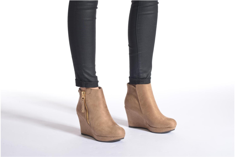 Bottines et boots Xti Maran Beige vue bas / vue portée sac
