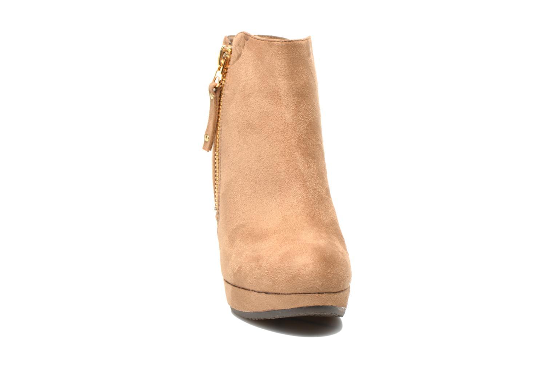 Bottines et boots Xti Maran Beige vue portées chaussures