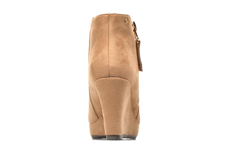Bottines et boots Xti Maran Beige vue droite