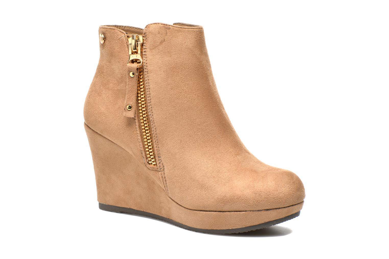 Bottines et boots Xti Maran Beige vue détail/paire
