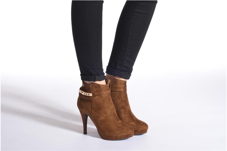 Stiefeletten & Boots Xti Mayang schwarz ansicht von unten / tasche getragen