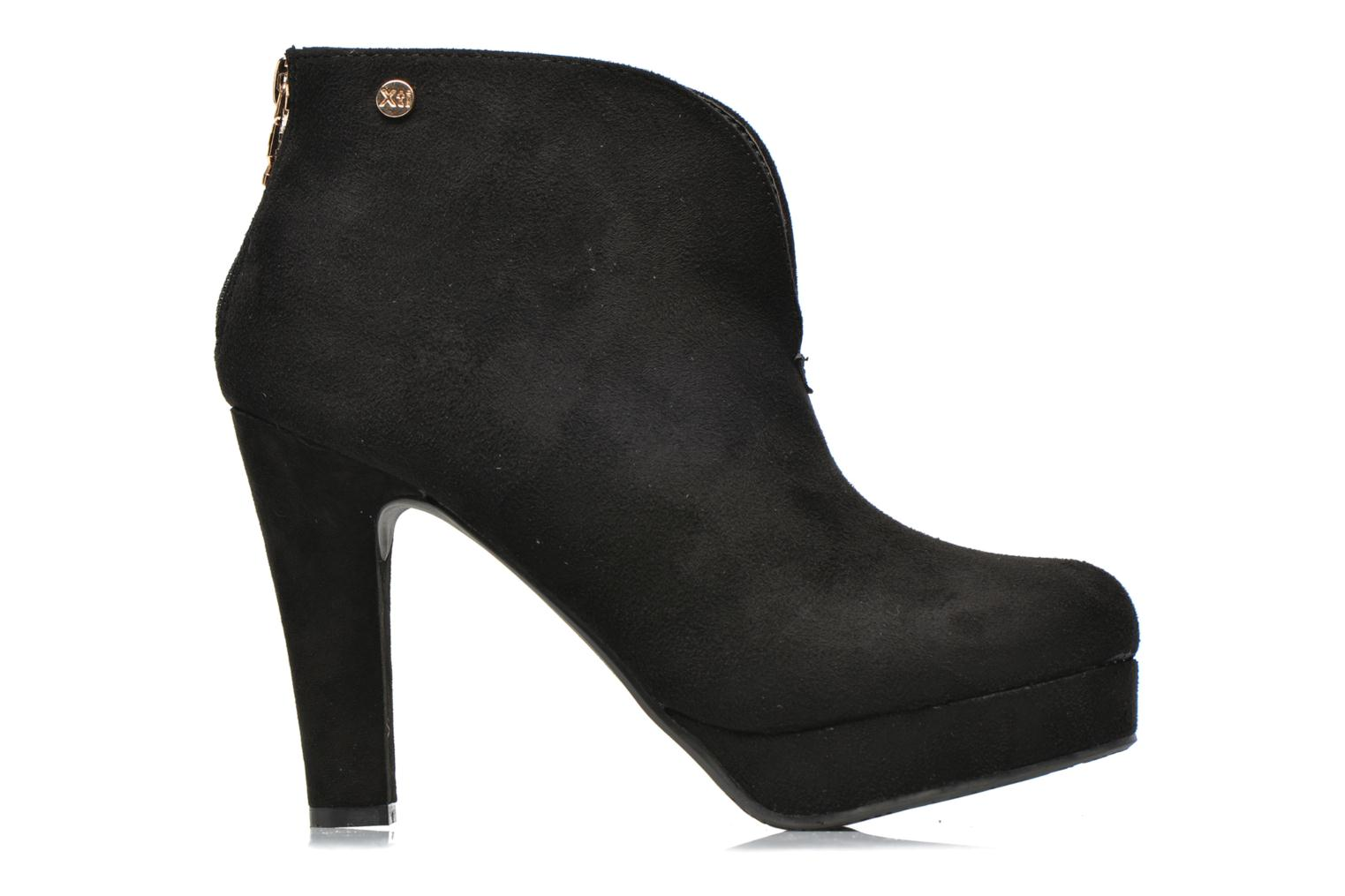 Ankle boots Xti Hulopo Black back view