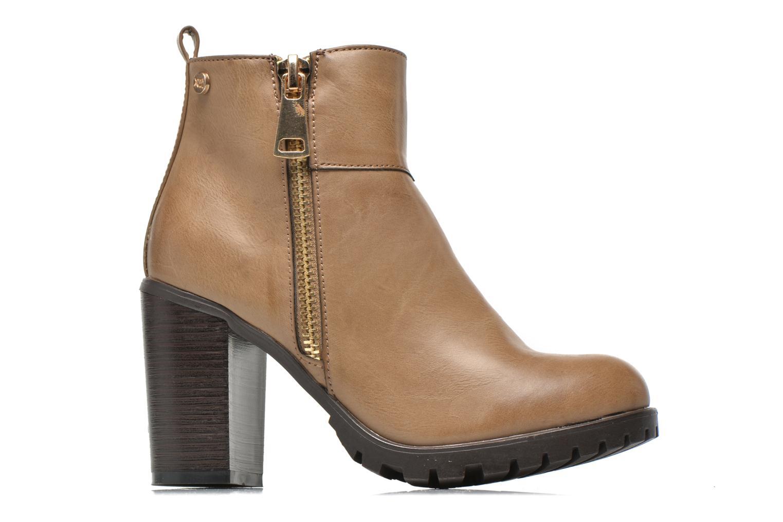 Stiefeletten & Boots Xti Maunoa beige ansicht von hinten