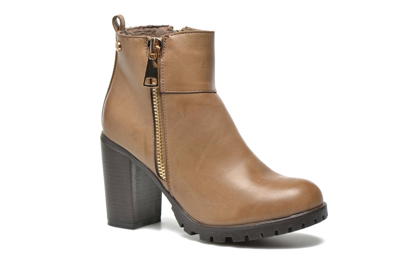 Stiefeletten & Boots Xti Maunoa beige detaillierte ansicht/modell