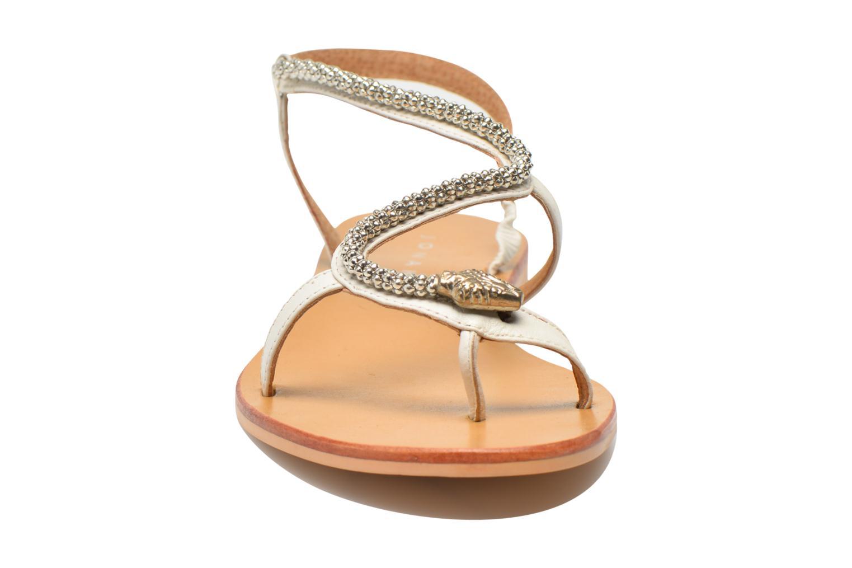 Sandales et nu-pieds Jonak DOUBLON Blanc vue portées chaussures