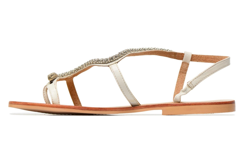 Sandales et nu-pieds Jonak DOUBLON Blanc vue face