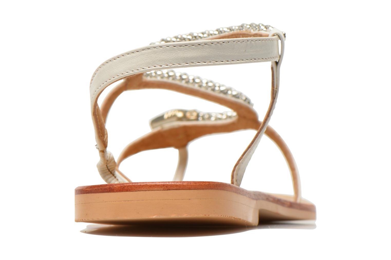 Sandales et nu-pieds Jonak DOUBLON Blanc vue droite