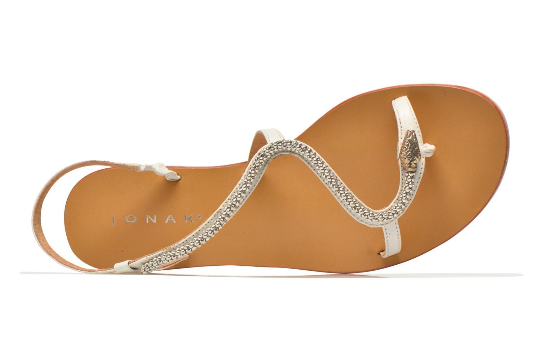 Sandales et nu-pieds Jonak DOUBLON Blanc vue gauche