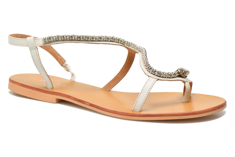 Sandales et nu-pieds Jonak DOUBLON Blanc vue détail/paire