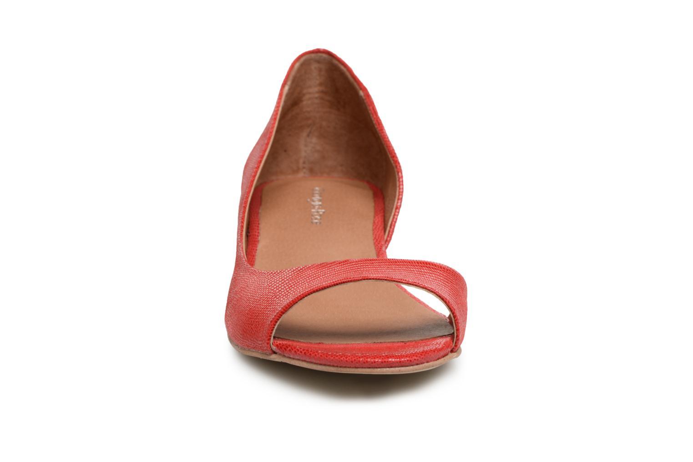 Ballerines Georgia Rose Emoto Rouge vue portées chaussures