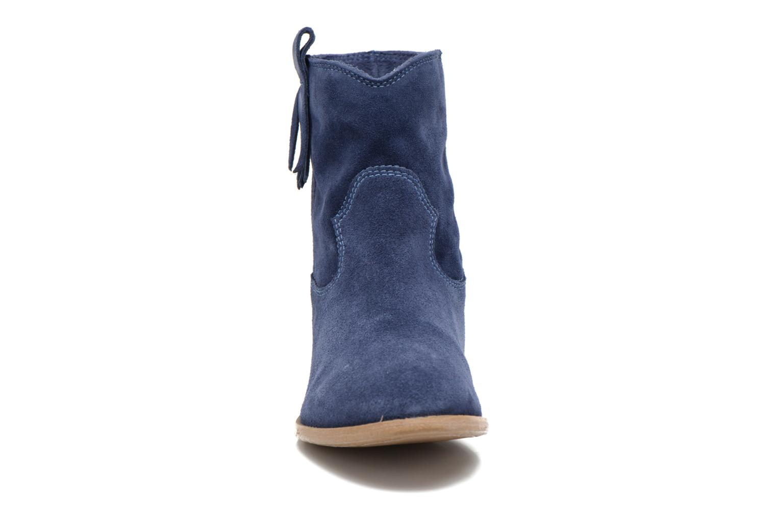 Ankle boots Tamaris Selina Blue model view