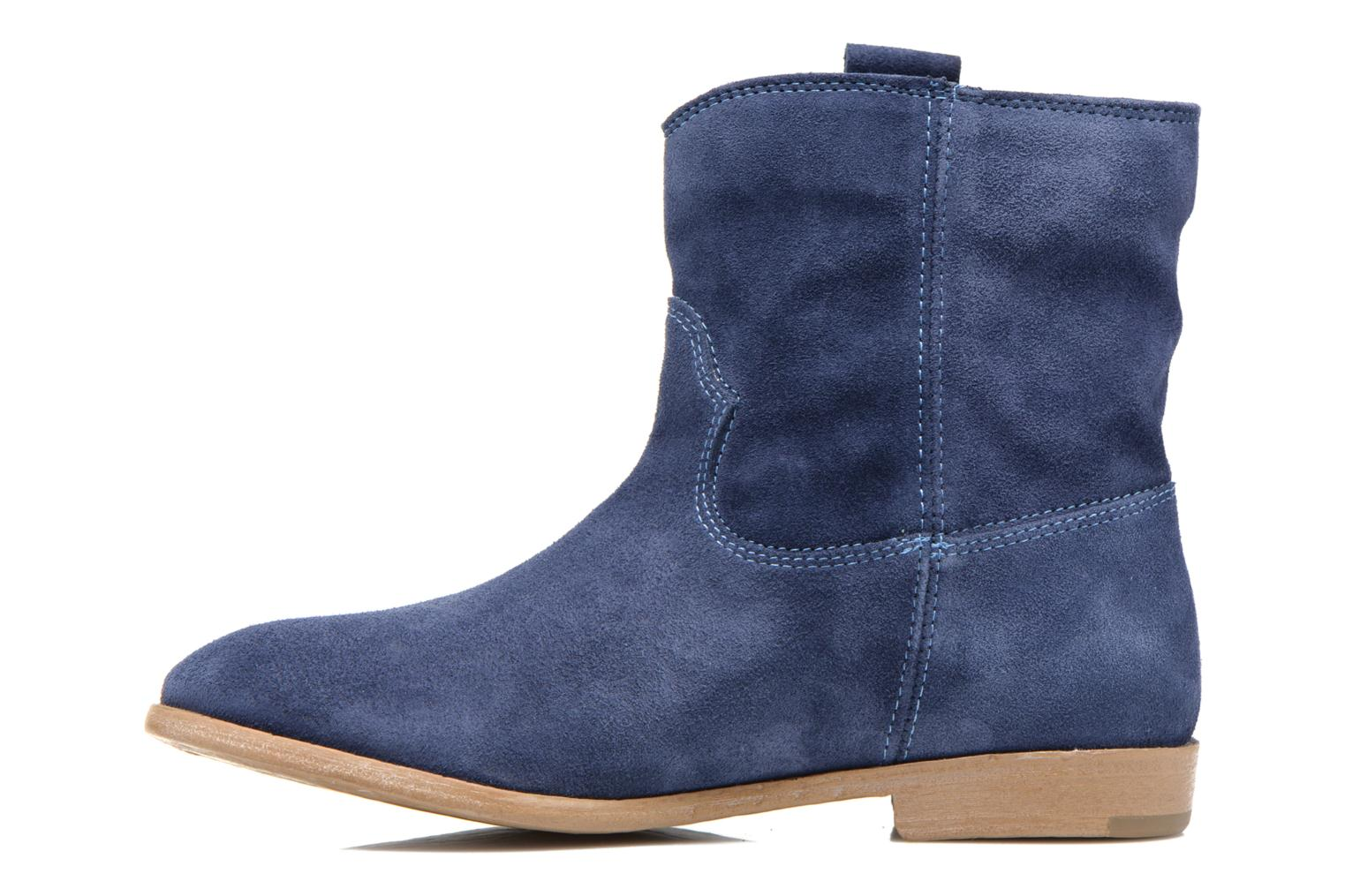 Bottines et boots Tamaris Selina Bleu vue face