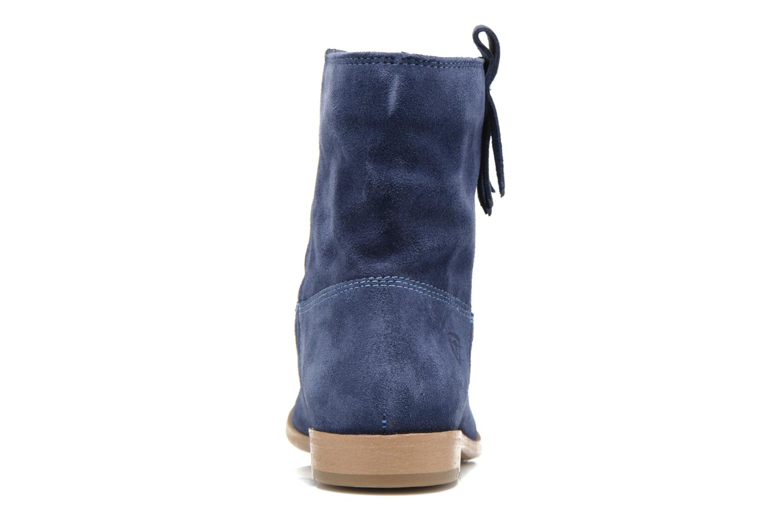 Ankle boots Tamaris Selina Blue view from the right