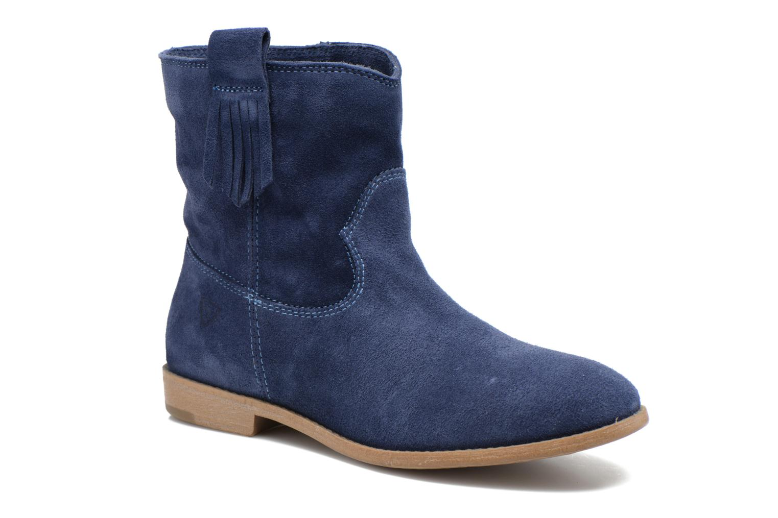 Ankle boots Tamaris Selina Blue detailed view/ Pair view