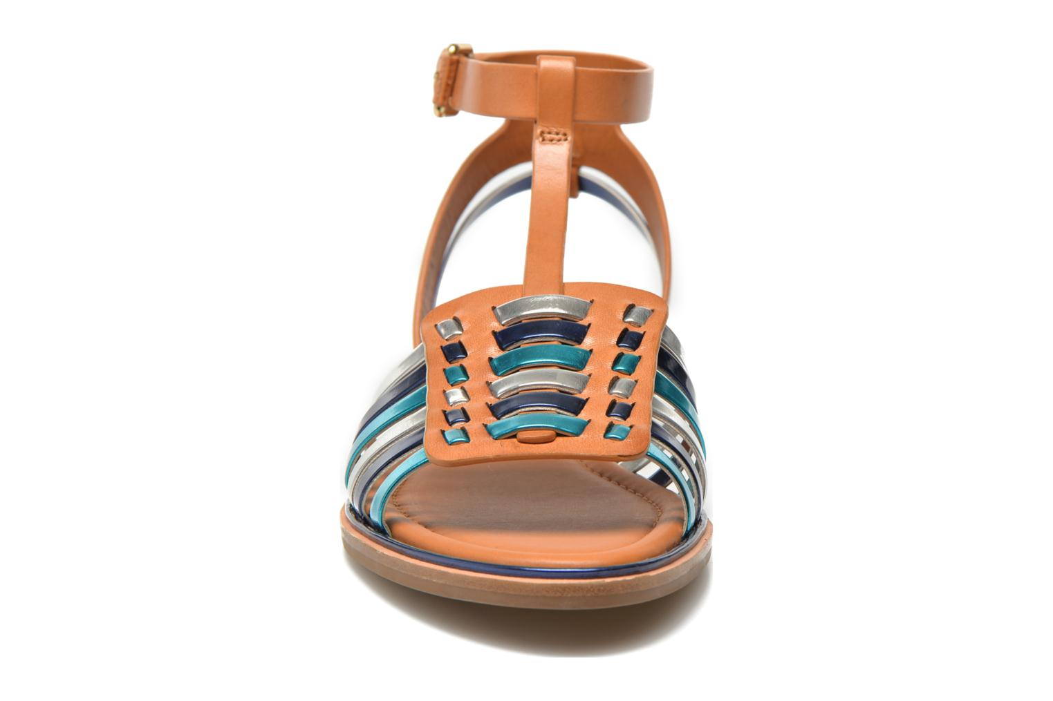 Sandals What For Pralie Blue model view