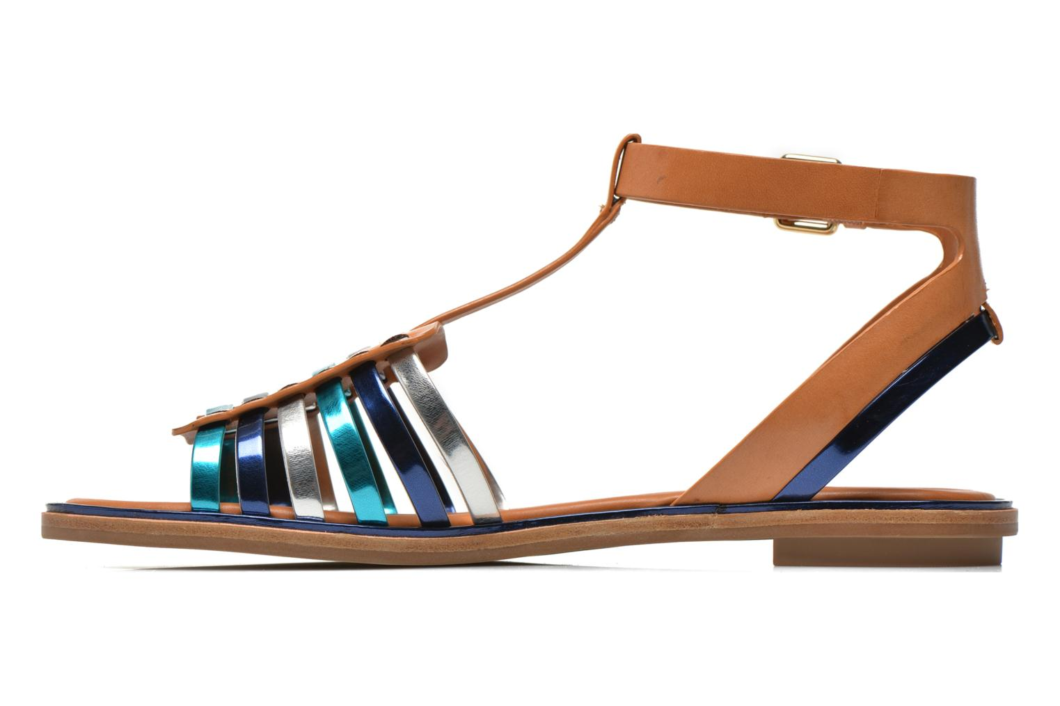 Sandals What For Pralie Blue front view