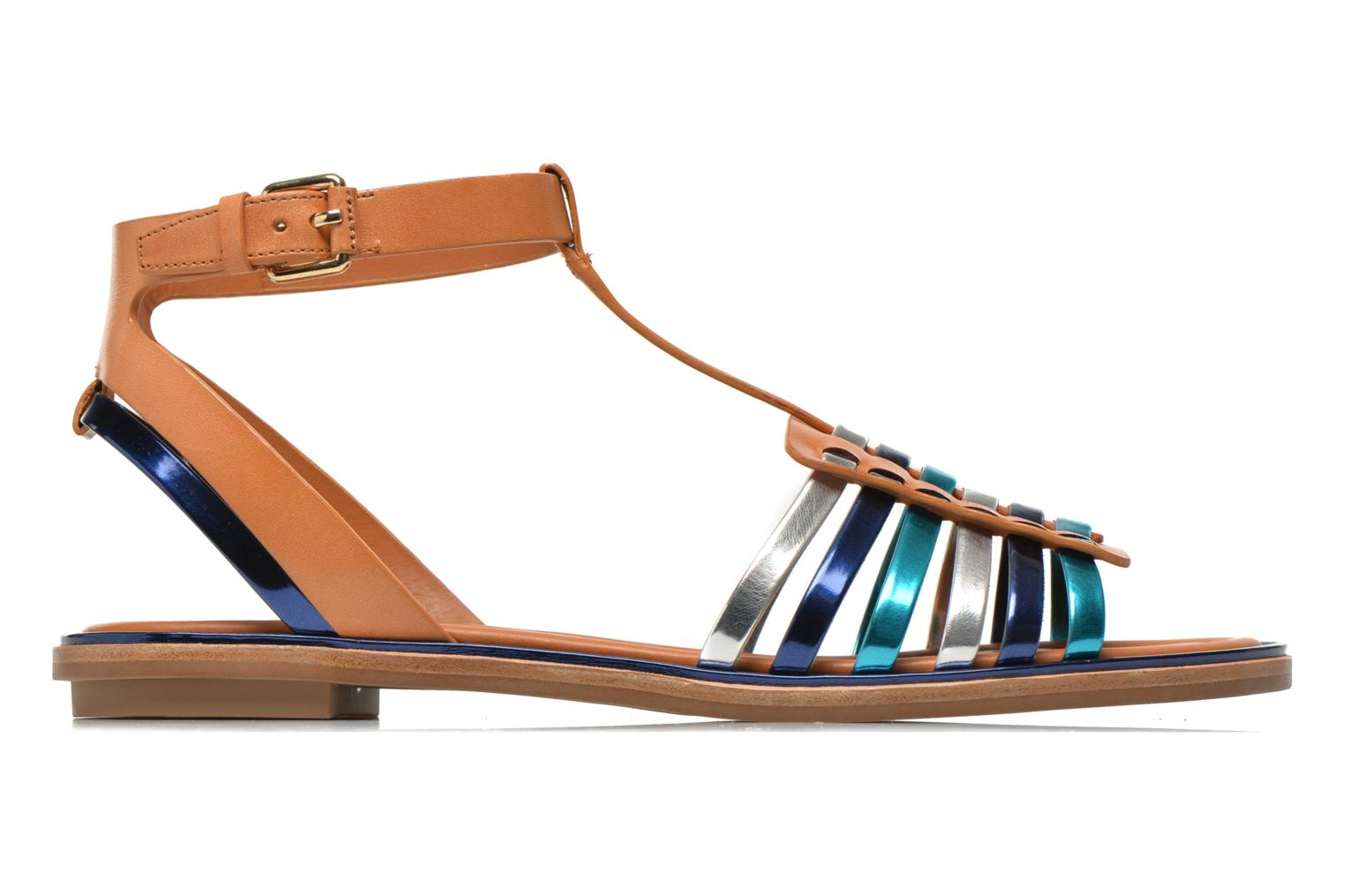 Sandals What For Pralie Blue back view