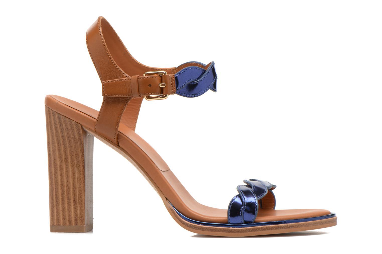 Sandales et nu-pieds What For July Bleu vue derrière