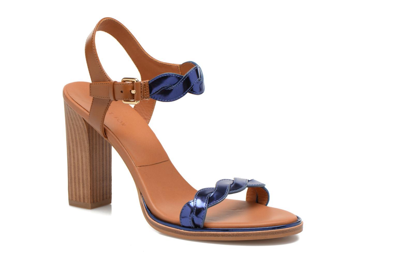 Sandalias What For July Azul vista de detalle / par