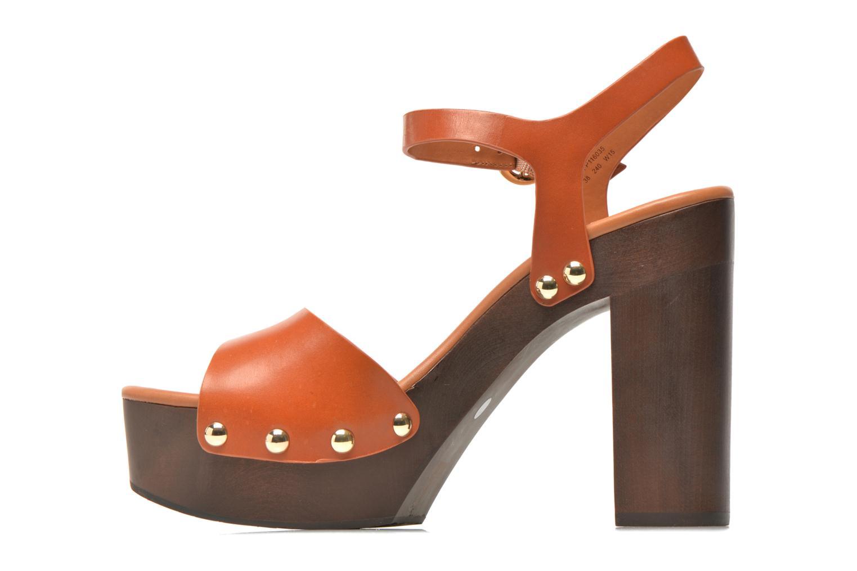 Sandalen What For Tima braun ansicht von vorne