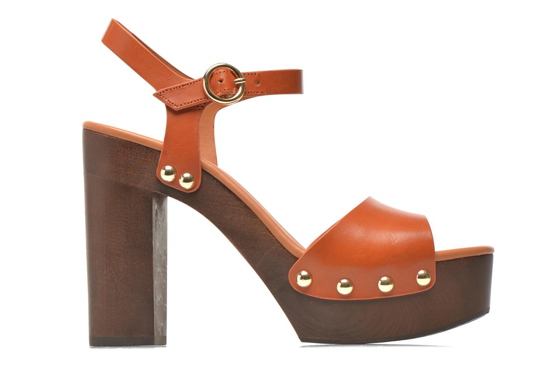 Sandalen What For Tima braun ansicht von hinten