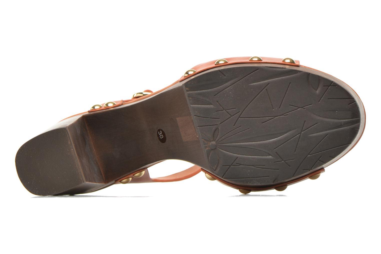 Sandalen What For Tima braun ansicht von oben