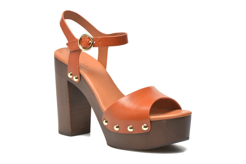 Sandalen What For Tima braun detaillierte ansicht/modell