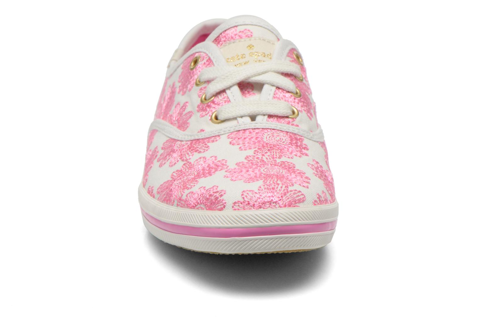 Baskets Keds Ch Daisy Embroidery Rose vue portées chaussures
