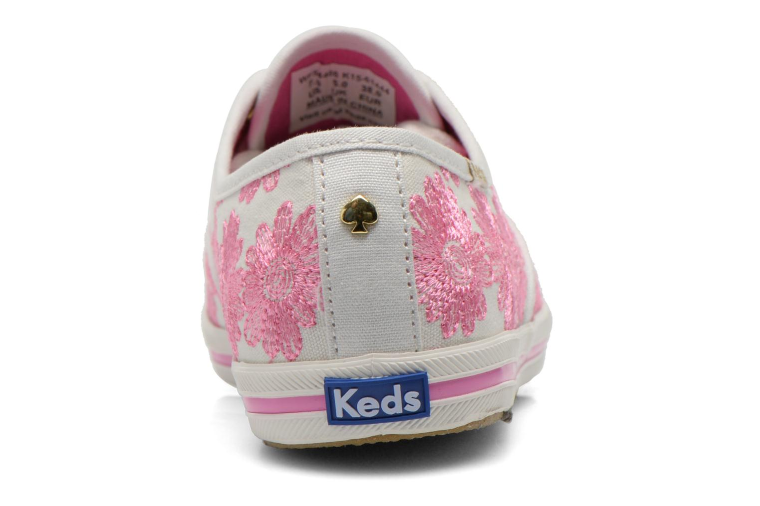 Baskets Keds Ch Daisy Embroidery Rose vue droite