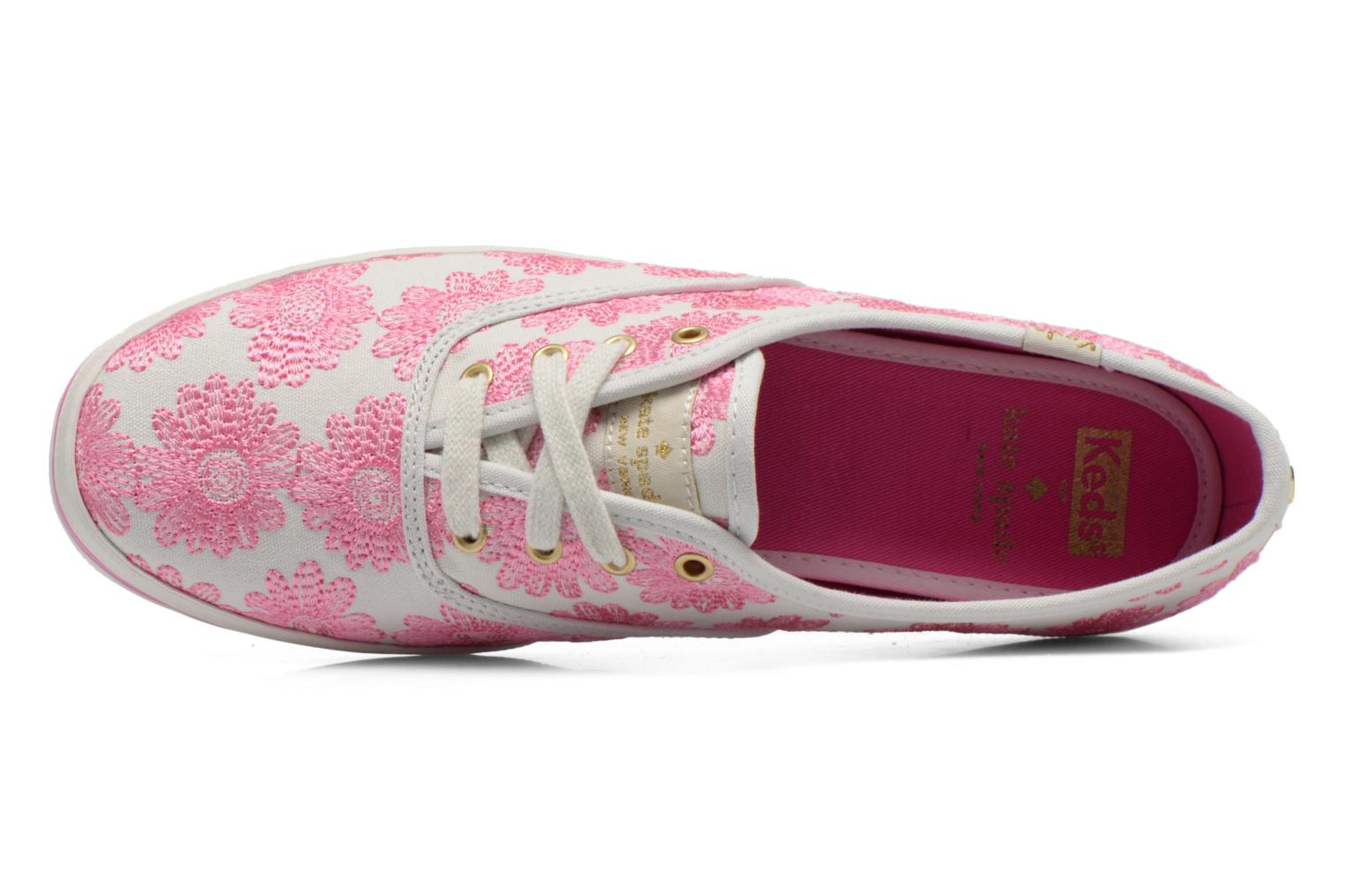 Sneaker Keds Ch Daisy Embroidery rosa ansicht von links