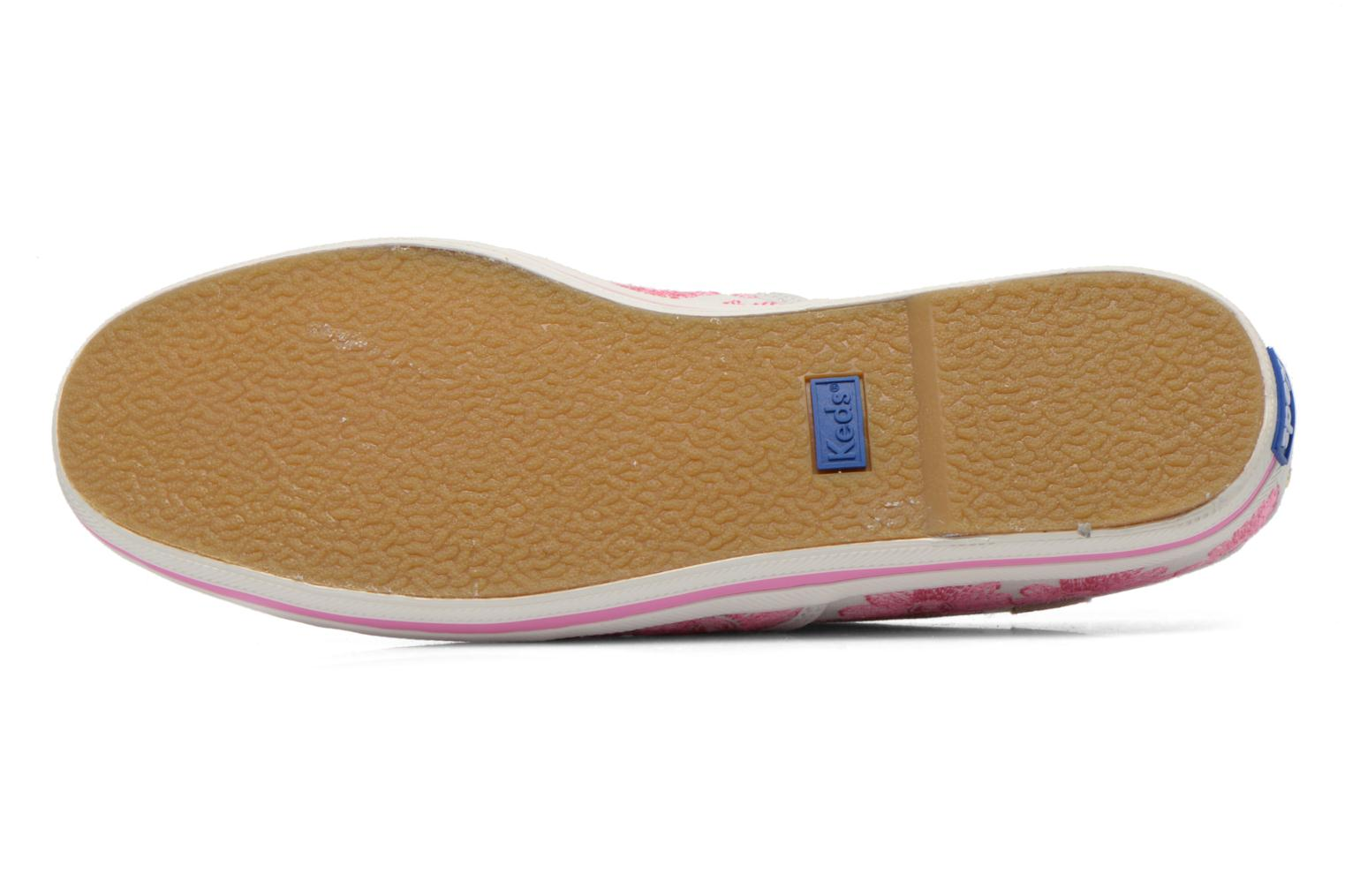 Baskets Keds Ch Daisy Embroidery Rose vue haut
