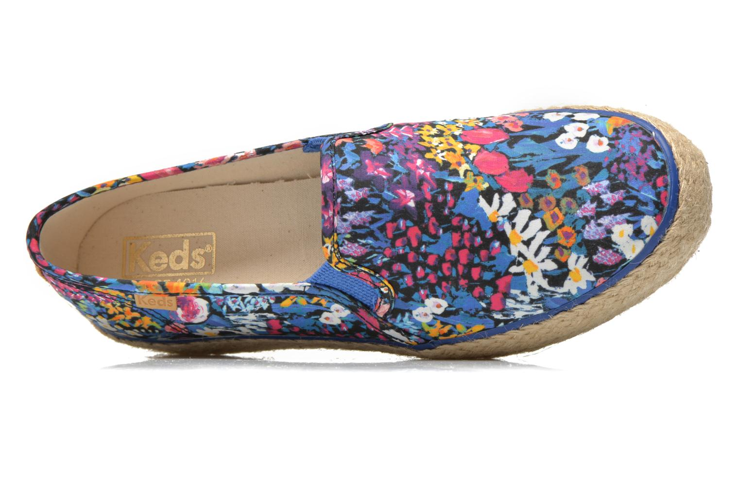 Sneakers Keds Triple Decker Liberty Floral Multicolore immagine sinistra