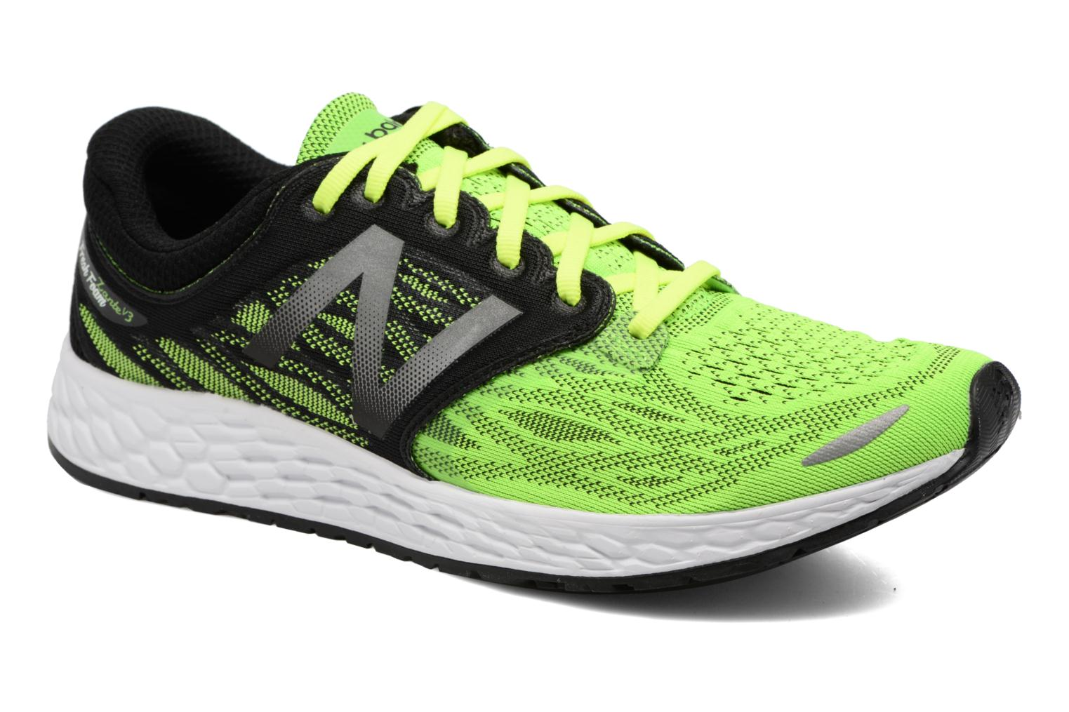 Sport shoes New Balance MZANT Green detailed view/ Pair view
