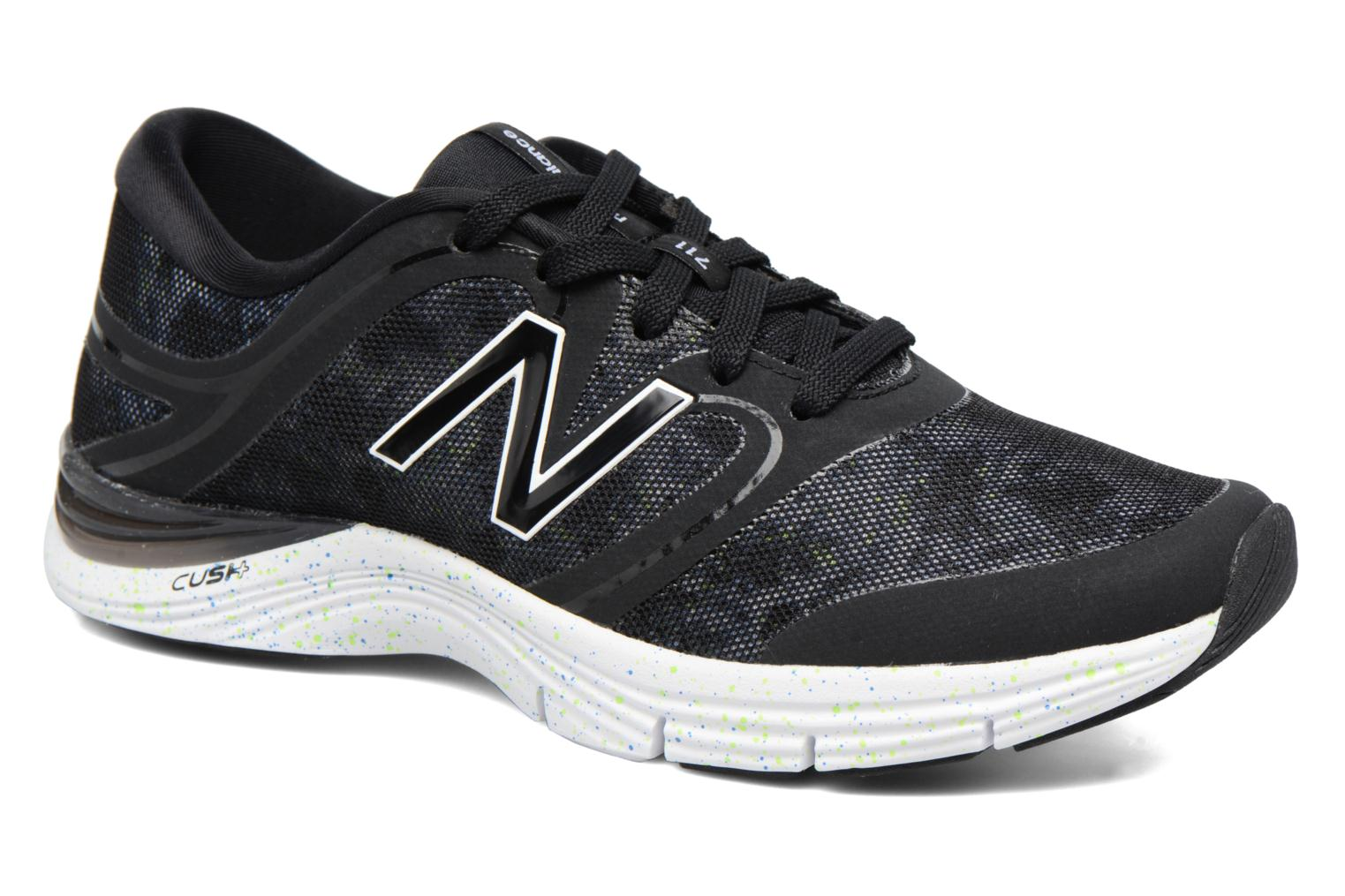 Sport shoes New Balance WX711 Black detailed view/ Pair view