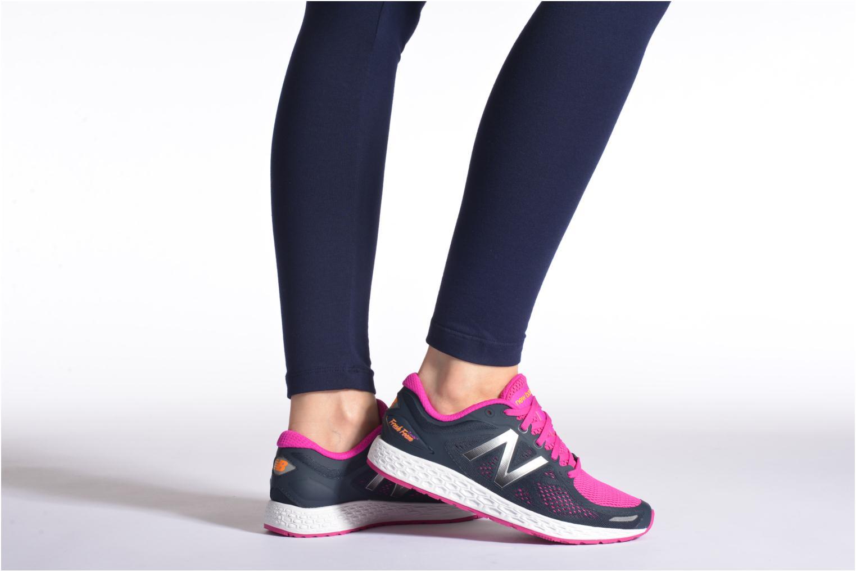Chaussures de sport New Balance WZANT Rose vue bas / vue portée sac
