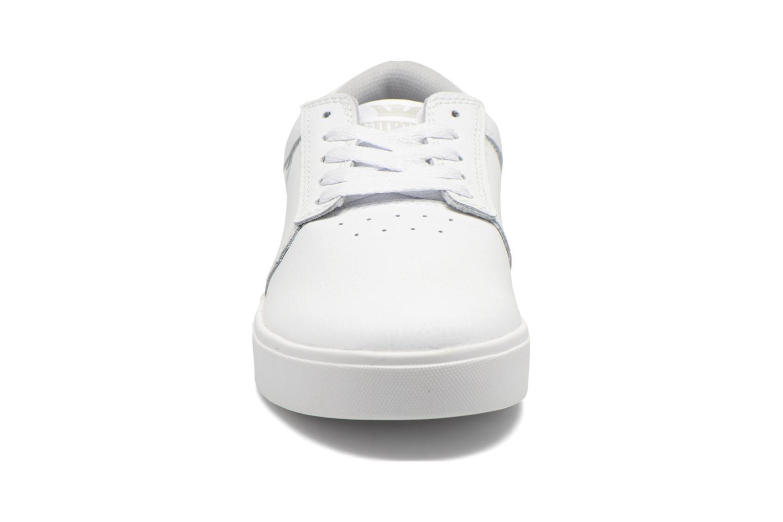 Chaussures de sport Supra Hammer Blanc vue portées chaussures