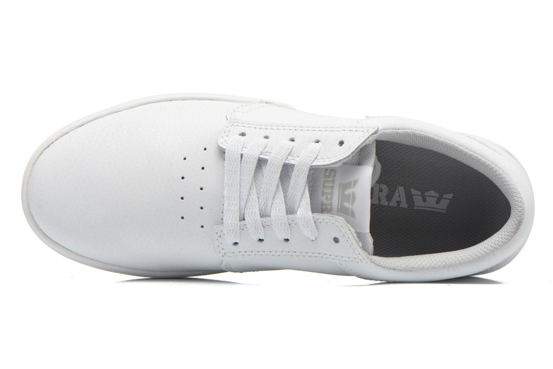 Chaussures de sport Supra Hammer Blanc vue gauche