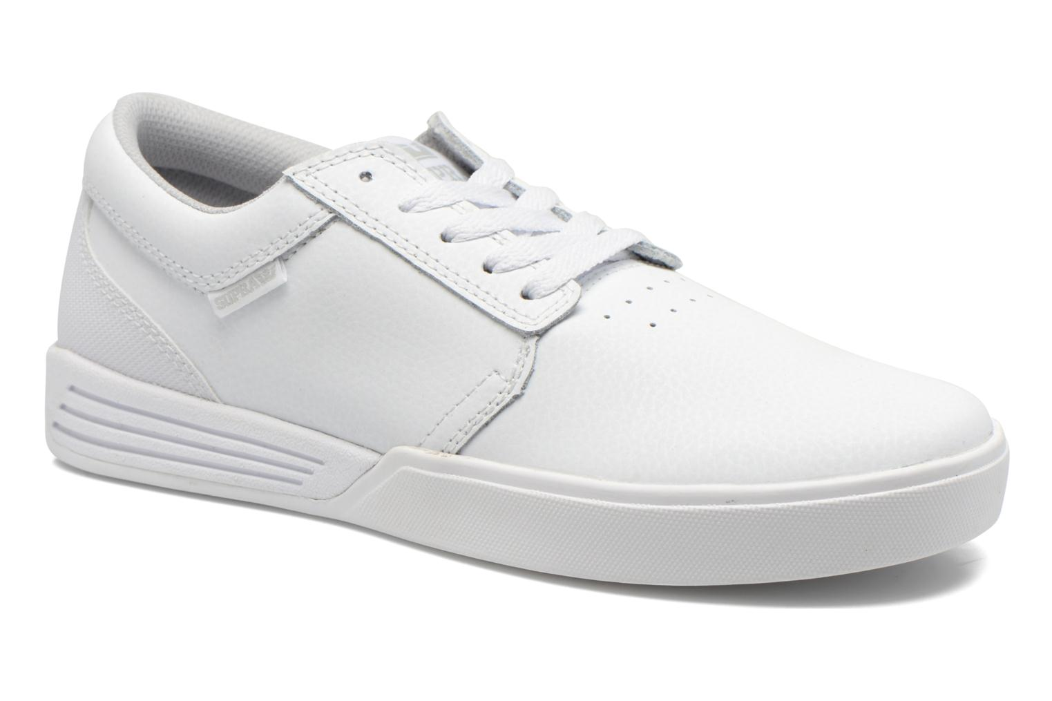 Sport shoes Supra Hammer White detailed view/ Pair view