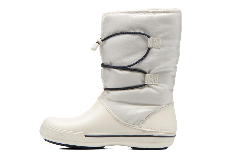 Botines  Crocs Crocband II.5 Cinch Boot W Blanco vista de frente