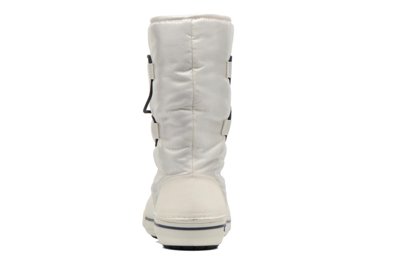 Botines  Crocs Crocband II.5 Cinch Boot W Blanco vista lateral derecha