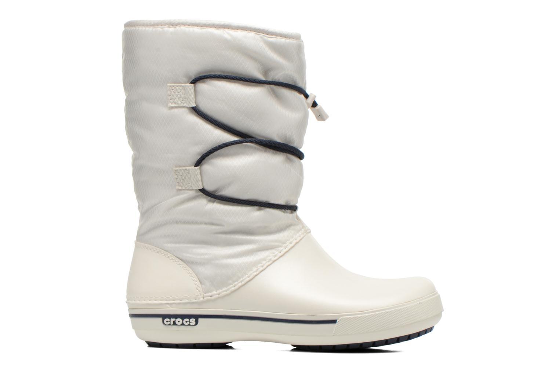 Botines  Crocs Crocband II.5 Cinch Boot W Blanco vistra trasera