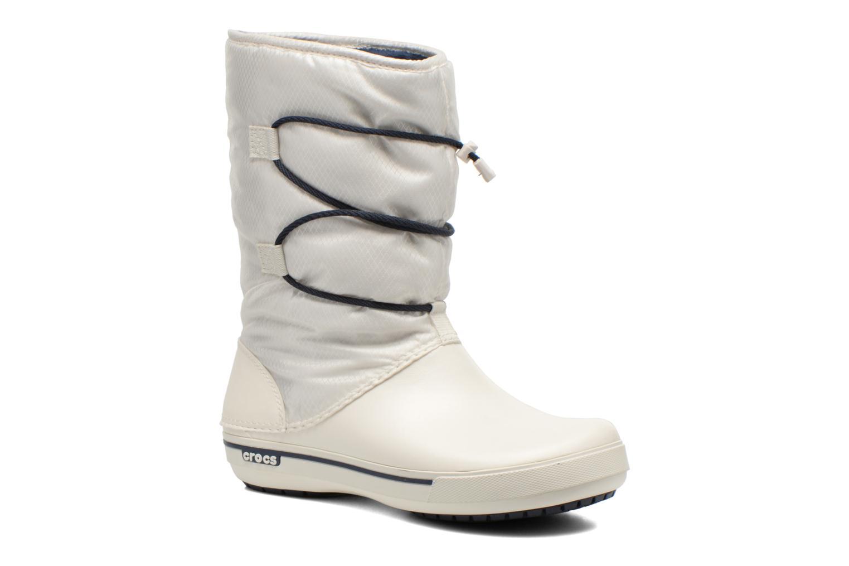 Botines  Crocs Crocband II.5 Cinch Boot W Blanco vista de detalle / par