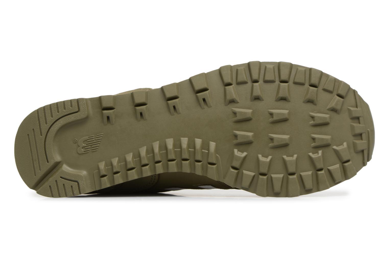 Sneaker New Balance ML574 D grün ansicht von oben