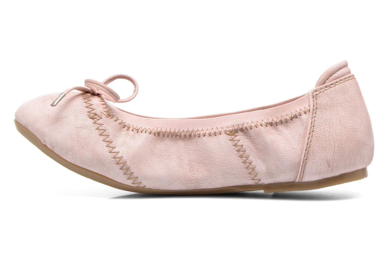 Ballerinas Mustang shoes Leah rosa ansicht von vorne