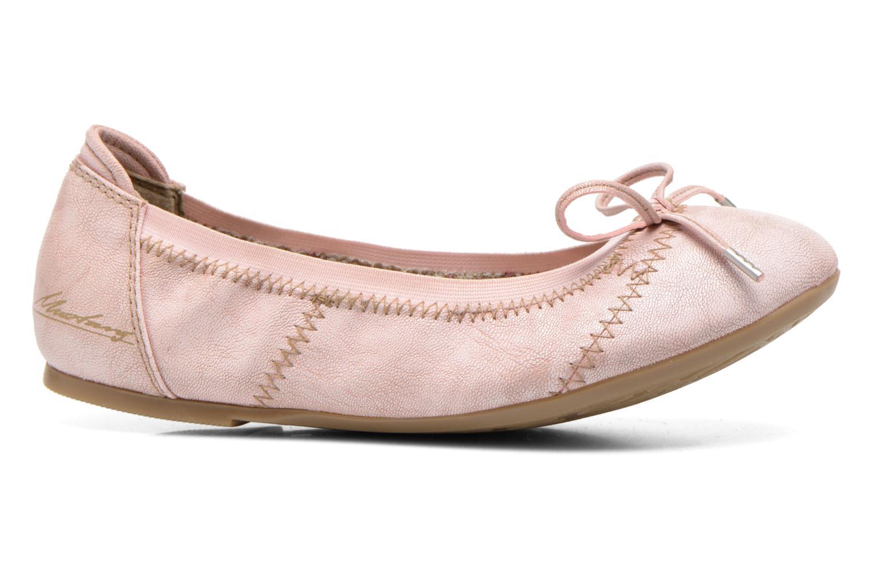 Ballerinas Mustang shoes Leah rosa ansicht von hinten