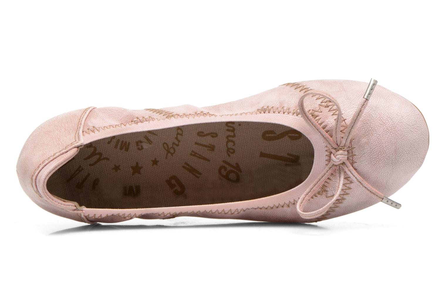 Ballerinas Mustang shoes Leah rosa ansicht von links