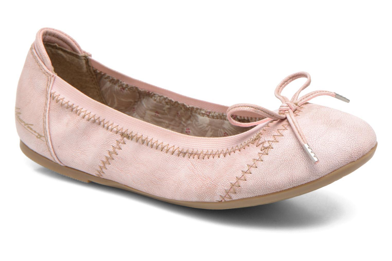 Ballerina Mustang shoes Leah Rosa detaljerad bild på paret