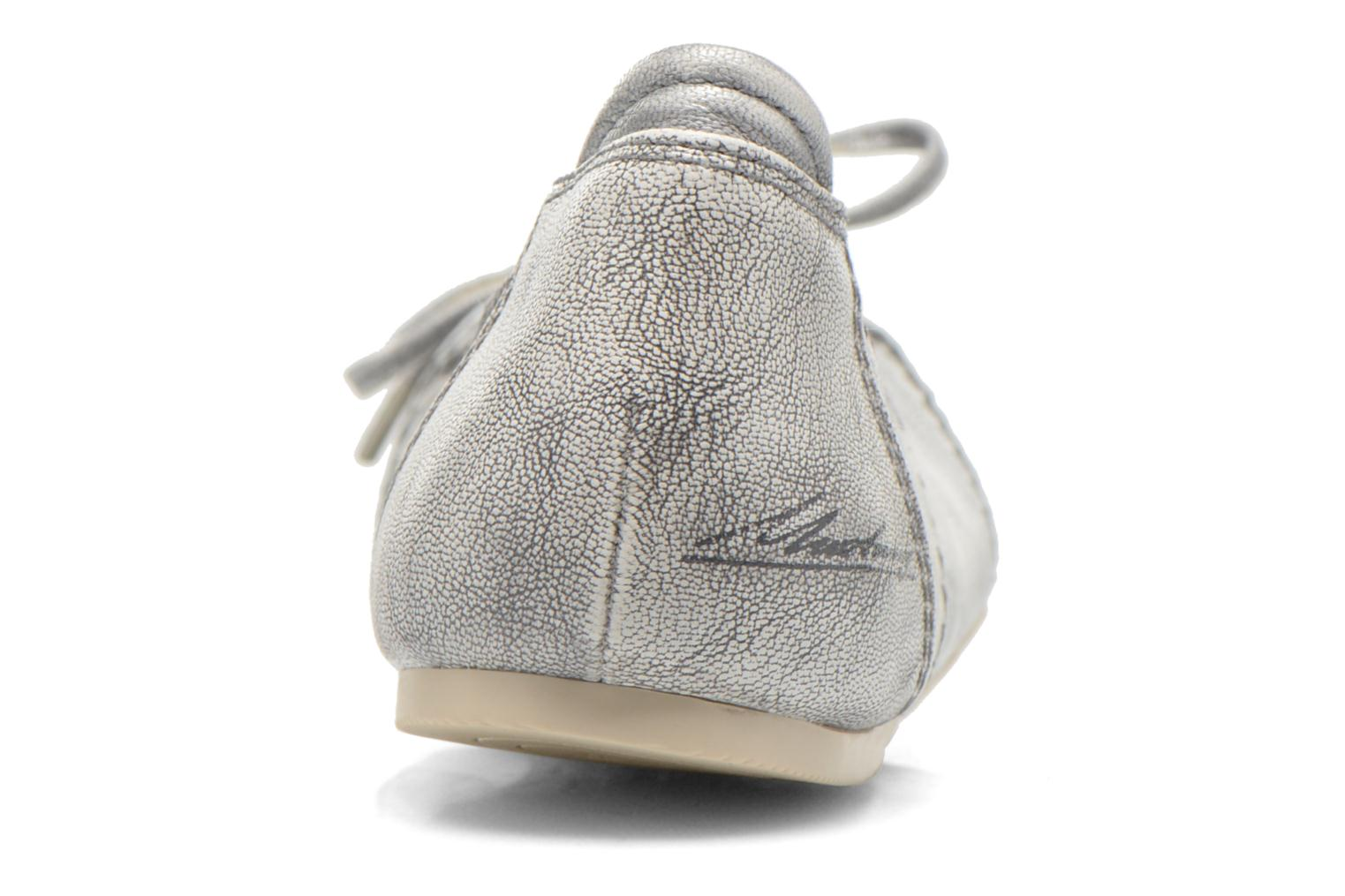 Ballet pumps Mustang shoes Leah Silver view from the right