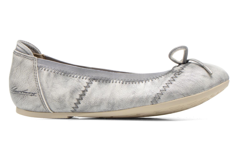 Ballerinas Mustang shoes Leah silber ansicht von hinten